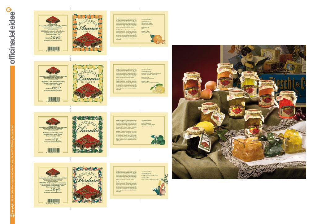 Etichette prodotti A.Fieschi