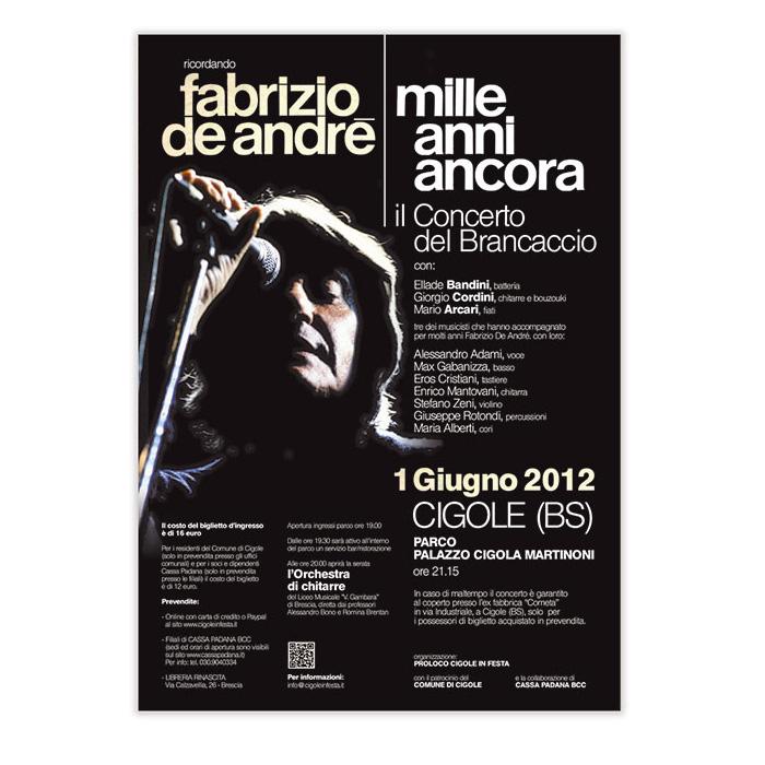 Ricordando Fabrizio De Andrè
