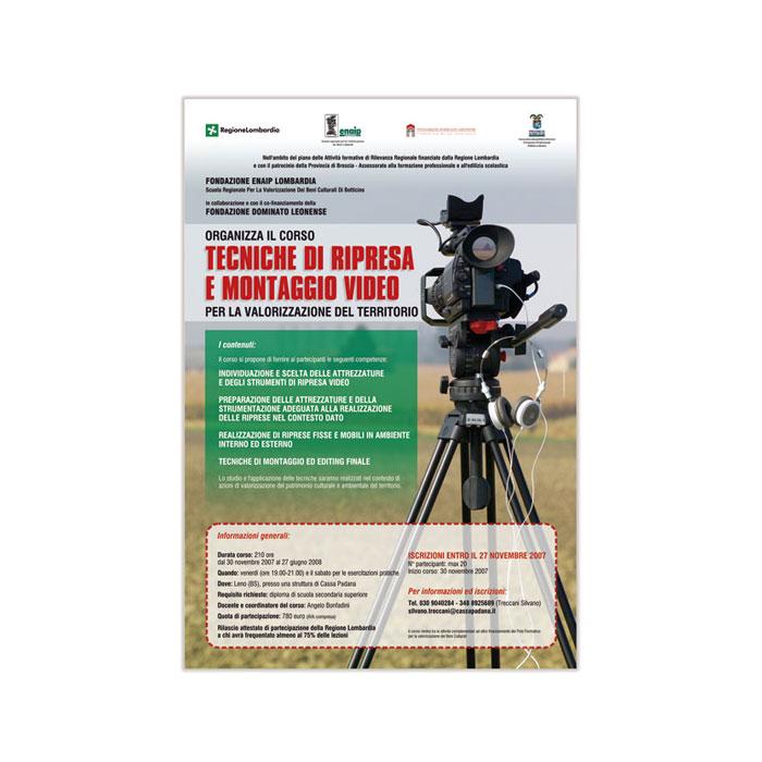 Tecniche di ripresa e montaggio video