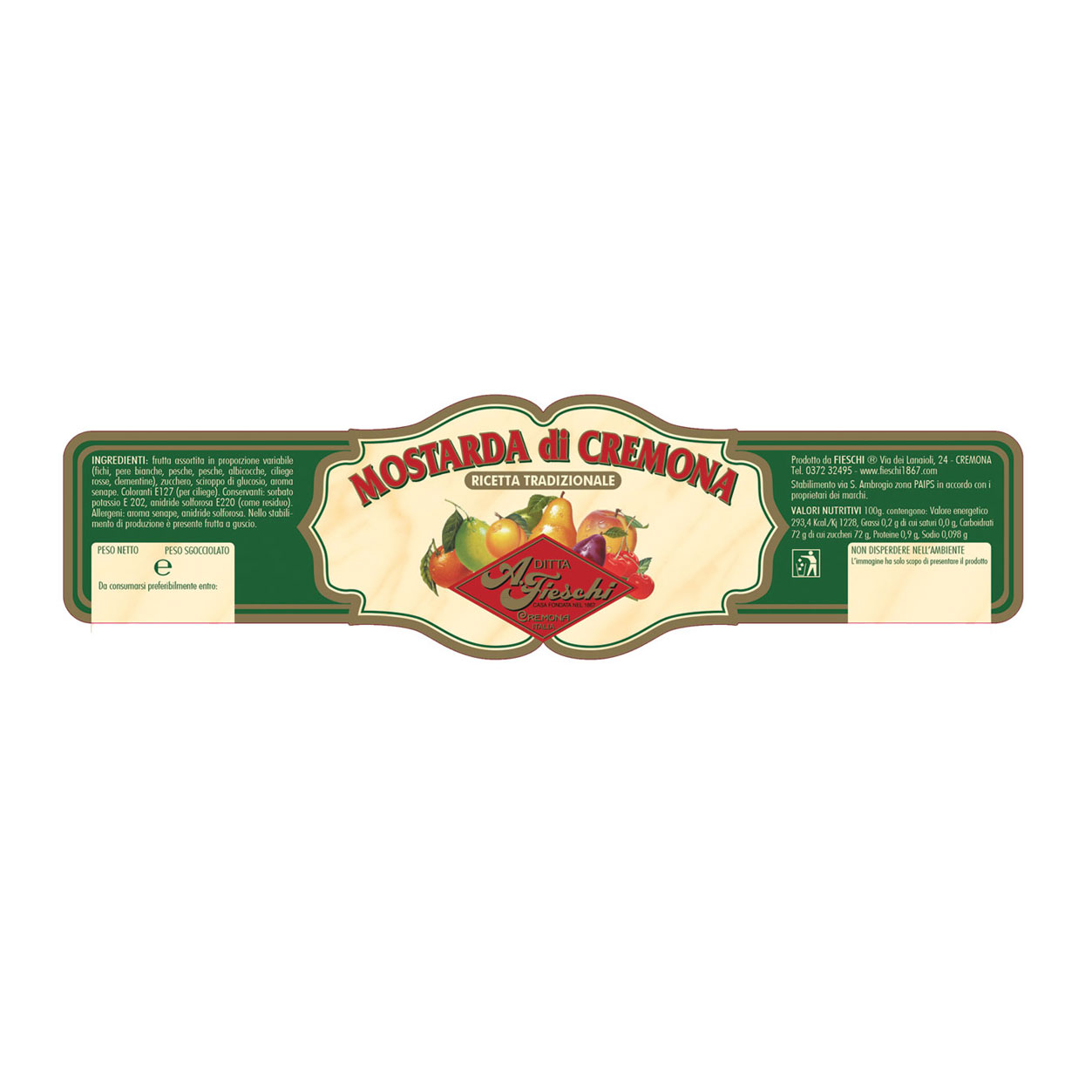 Mostarda Cremonese
